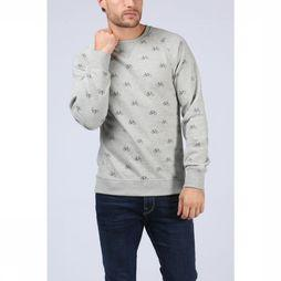 Dstrezzed Pullover 211232 Light Grey Mixture/Assortment Geometric