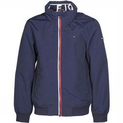 Tommy Hilfiger Coat Th Kb0Kb04464 dark blue
