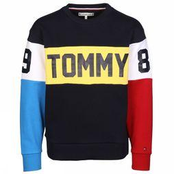 Tommy Hilfiger Trui Th Unisex Donkerblauw/Rood