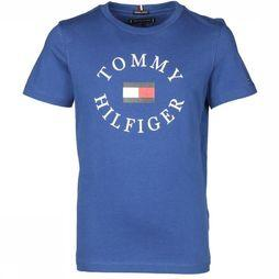 Tommy Hilfiger T-Shirt Th Essential Tommy  Graphic Koningsblauw