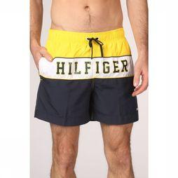Tommy Hilfiger Short De Bain Th Medium Drawstring Jaune/marine