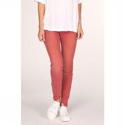 Yaya Broek Coloured Skinny Denim Bordeaux