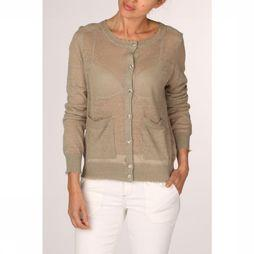 Yaya Cardigan Light Middenkaki