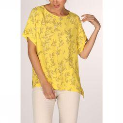 Yaya Shirt Woven Flower Print light yellow/Assortment Flower