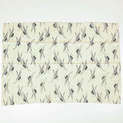 Yaya Home Handdoek Tea Towel - Fly Like A Bird Gebroken Wit/Assortiment Geometrisch