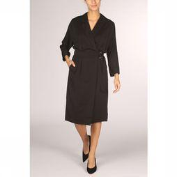 Yaya Robe Wrap With Belt Noir