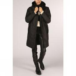 Yaya Coat Raincoat With Teddy Lining black