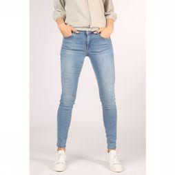 Yaya Jeans Basic Skinny 5-Pocket With Stretch Lichtblauw