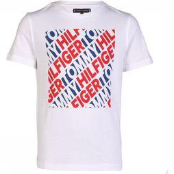 Tommy Hilfiger T-Shirt Th Fashion Bold Block Wit