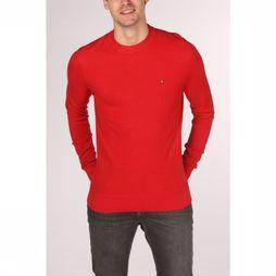Tommy Hilfiger Pullover Mouline Ricecorn mid red