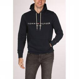 Tommy Hilfiger Trui Tommy Logo Hoody Donkerblauw
