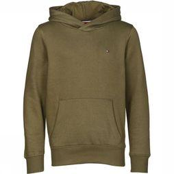 Tommy Hilfiger Pullover Essential Hoodie mid khaki