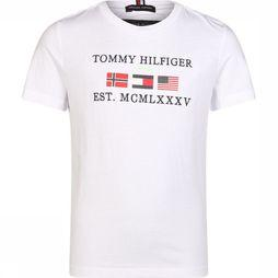 Tommy Hilfiger Polo Graphic F/B Polo S/S Blanc