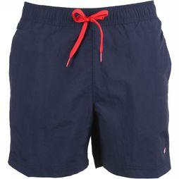 Tommy Hilfiger Zwemshort Sf Medium Drawstring Marineblauw