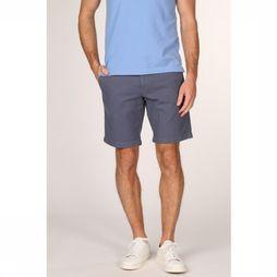 Tommy Hilfiger Short Brooklyn Dobby Middenblauw