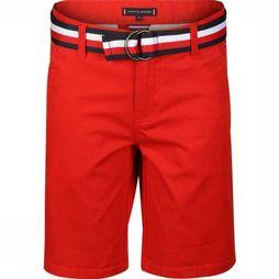 Tommy Hilfiger Short Essential ed Chino Rouge