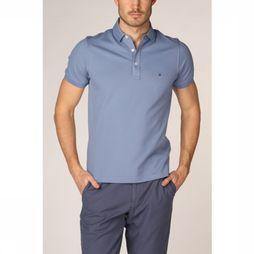 Tommy Hilfiger Polo Tommy Slim Middenblauw