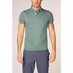 Tommy Hilfiger Polo Tommy Slim Middengroen