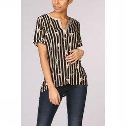 Geisha Shirt 93141-20 black/sand