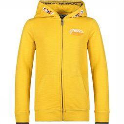 Petrol Pull Hooded Jaune