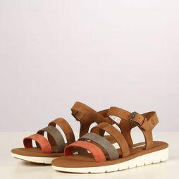 Timberland Sandal Lottie Lou 3-Band brown/red