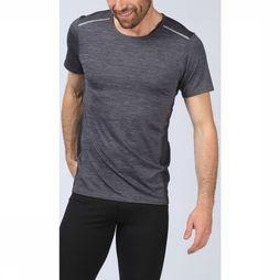 Skiny T-Shirt Active Per4mance Short Sleeve Dark Grey Mixture