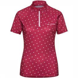 Vaude T-Shirt Dotweet Rouge Moyen/Blanc