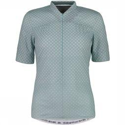 Maloja T-Shirt Costettam. 1/2 light green/white