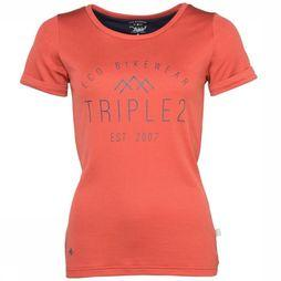 Triple2 T-Shirt Stod mid red