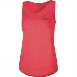 Gore Wear T-Shirt C3 Sleeveless Middenroze