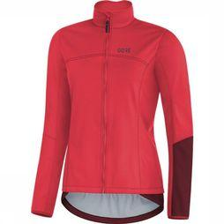 Gore Wear Windstopper C5 Women Thermo Donkerroze/Donkerrood