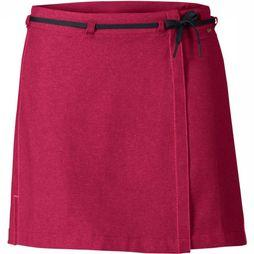 Vaude Skort Tremalzo II dark red