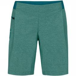 Vaude Trousers Wo Cyclist Shorty dark green