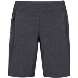 Vaude Trousers Wo Cyclist Shorty dark grey