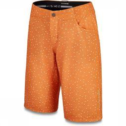 Spyder Trousers Faye 13'' Schort W/ Liner orange