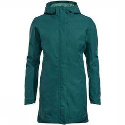 Vaude Coat Cyclist Padded Parka green/dark green