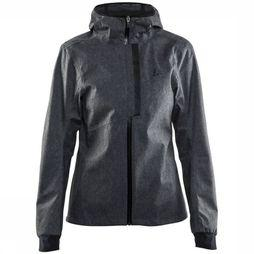 Craft Coat Ride Rain Dark Grey Mixture/Black
