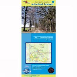 TRAGE PADEN Achterhoek Southwest topographical hinking map 2010