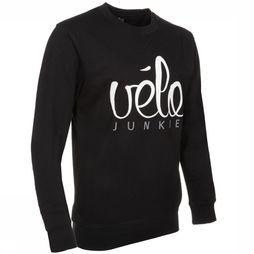 VEL Sweater Velojunkie black/white