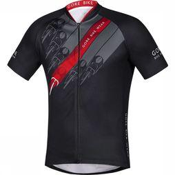 Gore Bike Wear T-Shirt E Sprintman Zwart/Middenrood