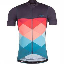 Triple2 T-Shirt Velozip Race dark blue/orange