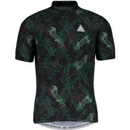 Maloja T-Shirt Taraspm. 1/2 black/dark green
