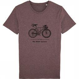 The Vandal T-Shirt Nomad Cyclist Bordeaux