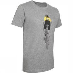 The Vandal T-Shirt Yellow N°51 Donkergrijs
