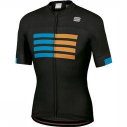 Sportful T-Shirt Wire black/blue