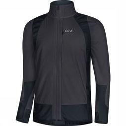 Gore Wear Windstopper C5 Partial Insulated Donkergrijs/Zwart