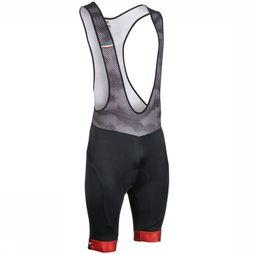 Northwave Pantalon Origin Bibshort Noir/Rouge