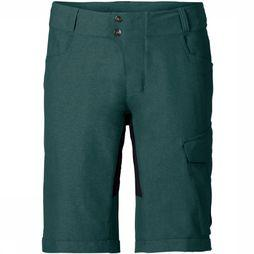 Vaude Trousers Tremalzo Shorts Ii mid green