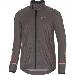 Gore Wear Jas C5 Gore-Tex Shakedry 1985 Insulated Donkergrijs
