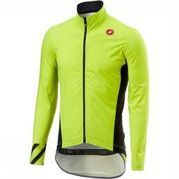 Castelli Coat Pro Fit Light Rain mid yellow